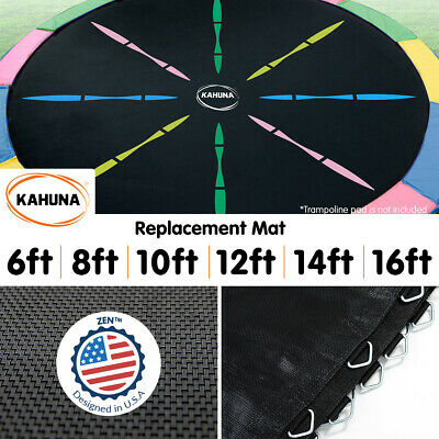 AU129 • Buy New Trampoline Replacement Spring Rainbow Mat Round 6ft 8ft 10ft 12ft 14ft 16ft