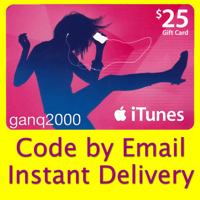 AU42.37 • Buy $25 APPLE US ITunes GIFT CARD Voucher Certificate FAST (USA Store) 100% Genuine