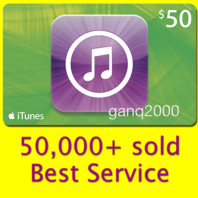 AU88.27 • Buy  $50 APPLE US ITunes GIFT CARD (USA Store Key Code) FAST 100% Genuine