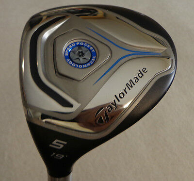 $ CDN138 • Buy LH - TaylorMade Jetspeed  5/19* Wood W/Velox T 69 Regular Graphite Shaft.#0686
