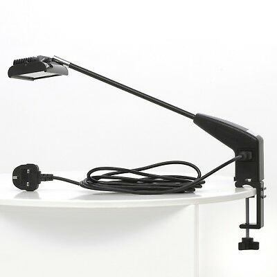 21W LED Cool White Display Lamp Exhibition Spot Light Trade Show Event + Clamp • 55.99£