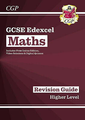 £6.49 • Buy NEW GCSE Maths Edexcel Revision Guide: Higher (Grade 9-1 Course) - By CGP Books