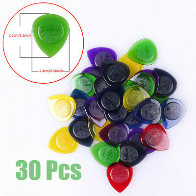 $ CDN7.77 • Buy 30Pcs Alice Guitar Bass Clear Picks Plectrums Multicolor 1.0 2.0 3.0mm Thickness