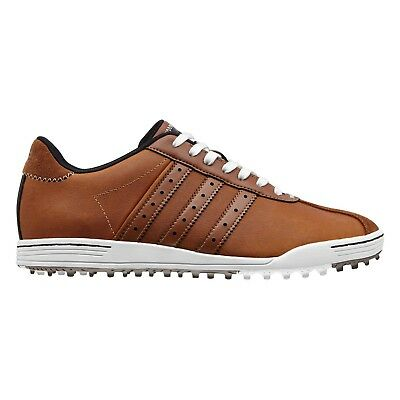 5799e11caf9d New Men s adidas Adicross Classic Golf Shoes Tan white Q44604 - Pick Your  Size •