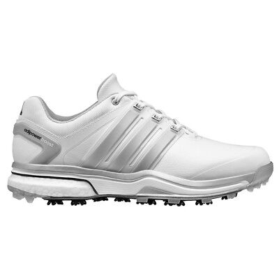 $69.99 • Buy New Men's adidas Adipower Boost White/grey Golf Shoes Q46752/q44540- Pick A Size