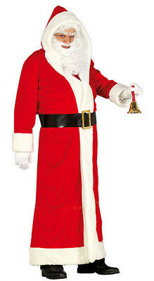 Mens Santa Claus Father Christmas Costume Deluxe Fancy Dress Outfit NEW 42-44 • 34.99£