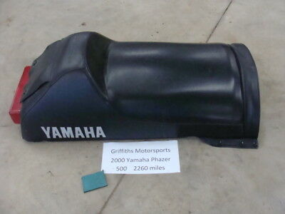 $299 • Buy 00 2000 99 01 YAMAHA Phazer 500 Deluxe Complete Seat W Cover Taillight Vmax Sx