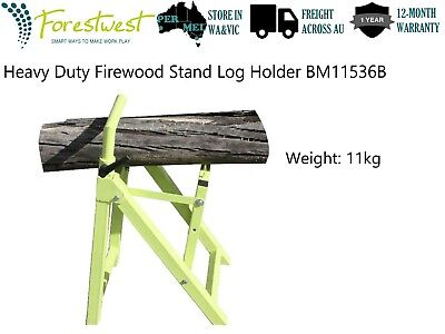 AU109 • Buy Heavy Duty Chainsaw Holder Stand Firewood Stand Log Holder Saw Horse FORESTWEST