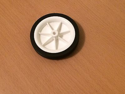 Select 100mm Plastic PVC Wheel - For Hobby & Toy Making Etc • 3.85£