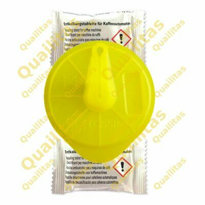 2 Descaling Tablets & Cleaning Service Disc For All Bosch Tassimo For T55 • 3.60£