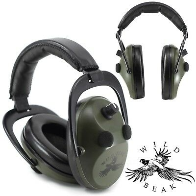HEARING PROTECTION / ELECTRONIC EAR DEFENDERS For SHOOTING HUNTING SPORT MUFFS • 34.99£