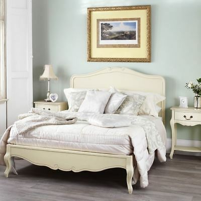 £565.24 • Buy Juliette Shabby Chic Champagne 6FT Super King Bed, Cream French Bed FrameQUALITY