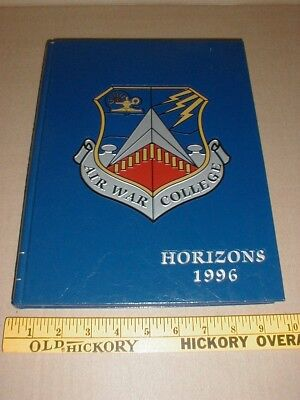 $45 • Buy Air War Military College 1996 School Annual Yearbook Air Force USAF Book