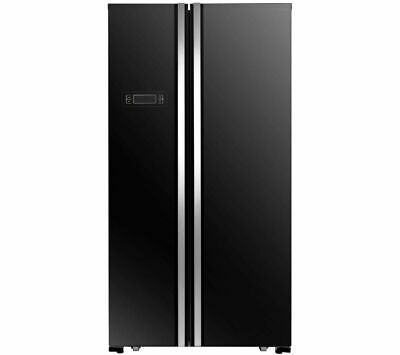 View Details KENWOOD KSBSB17 American-Style Fridge Freezer - Black - Currys • 530.00£