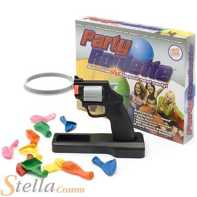 Funtime Party Russian Roulette Adult Balloon Popping Game • 12.05£