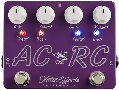 Xotic AC/RC-OZ Oz Noy Limited Edition Boost Overdrive Guitar Effect Pedal • 148.91£