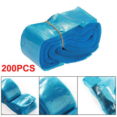 200 X Disposable Tattoo Machine Clip Cord Sleeves Cover Bags Clean Safety Supply • 5.79£