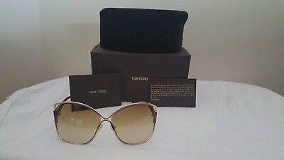 d6d89a67e6c New Authentic Tom Ford Miranda 28G Women s Gradient Sunglasses W Case •  200.00