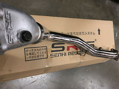$999.99 • Buy Sr*s Bellmouth Down Pipe Downpipe For 02+ Subaru Wrx/sti 4  T-304 Catted Srs