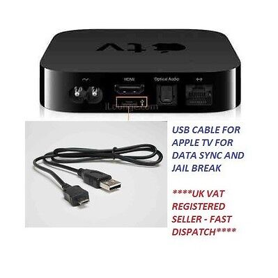 AU11.59 • Buy Usb Data Sync Cable For Apple Tv 2nd, 3rd Gen For Data Transfer, Jail Break Etc