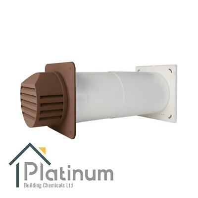 £98.80 • Buy Passyfier 140 BROWN | Core Dehumidifier Wall Vent Kit | Condensation Control