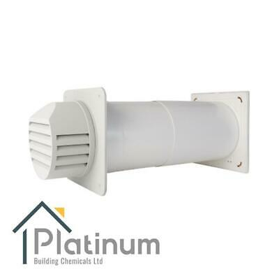 £98.80 • Buy Passyfier 140 WHITE | Core Dehumidifier Wall Vent Kit | Condensation Control
