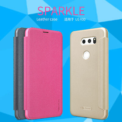 AU15.99 • Buy For LG V30+ Plus Case, Nillkin Sparkle Leather Case Protective Case For LG V30+