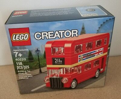 $ CDN25.51 • Buy Lego Creator 40220 118pc DOUBLE DECKER LONDON BUS