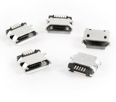 $3.49 • Buy 10pcs Micro USB Type B Female 5Pin SMT Socket Jack Connector USA SELLER