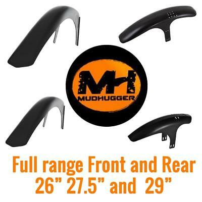 Mudhugger MTB Mudguard Mountain Bike Front Rear All Sizes 26  27.5  29  • 18£