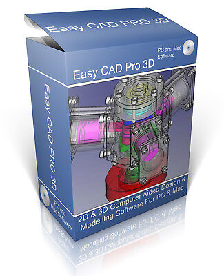 2D & 3D Modelling Suite On CD. Professional Computer Aided Design CAD Software • 4.49£