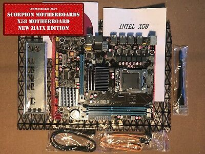 $ CDN134.06 • Buy NEW Intel X58, LGA 1366 16GB DDR3 Or ECC (Server) MATX Motherboard WiFi OC