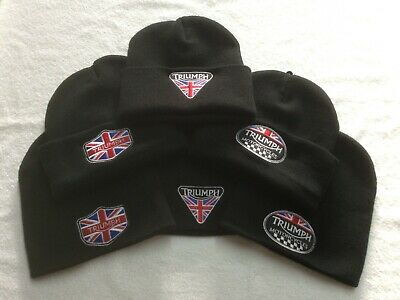 £13 • Buy Triumph Motorcycles Union Jack - Various - Woolly Hats / Beanies / Bobble Hats