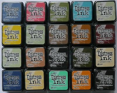 Tim Holtz Ranger DISTRESS Mini INK PADS  - Assorted Colours  • 3.05£