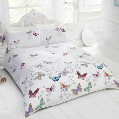 £16.89 • Buy Mariposa Butterfly Duvet Cover Set Girls Adults - Single, Double & King Size