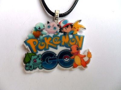 £2.69 • Buy  Pokemon  GO  Necklace Silver Or Leather