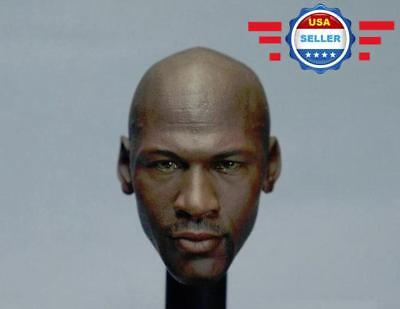 $40.85 • Buy 1/6 Michael Jordan Head Sculpt 4.0 For Custom 12  Hot Toys Enterbay Figure Body