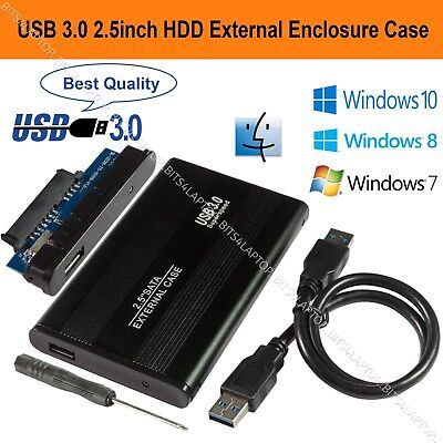 £6.75 • Buy USB 3.0 To SATA Hard Drive Enclosure Caddy Case For 2.5  Inch HDD / SSD External