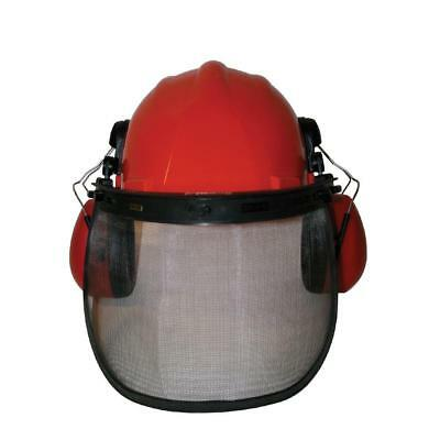 £25.50 • Buy Chainsaw Forestry Safety Helmet Hat & Steel Mesh Visor For Stihl Users
