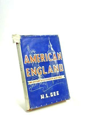 American England: An Epitome Of A Common He H. L Gee 1943 Book 51886 • 8.59£