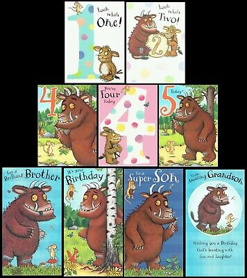 £1.85 • Buy THE GRUFFALO ~ OFFICIAL BIRTHDAY CARD Great Graphics Inside And Out L@@K