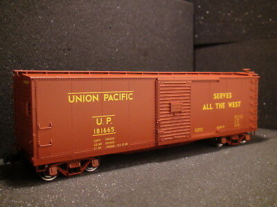 $ CDN118.57 • Buy O-scale Atlas #3002622-2 Union Pacific Rebuilt Box Car {2} Rail Up Road 181668