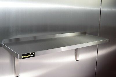 £50.50 • Buy Stainless Steel Shelf 1200x350mm For Commercial Kitchens Workshops And Stores