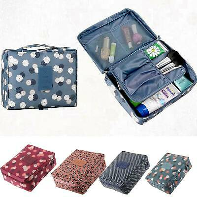 AU4.89 • Buy Travel Cosmetic Storage MakeUp Bag Folding Hanging Organizer Pouch Toiletry AU