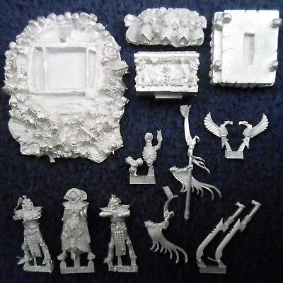 2002 Undead Casket Of Souls Citadel Skeleton Warhammer Tomb Kings War Machine  • 100£