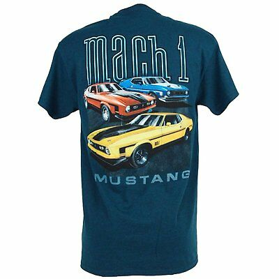 $9.99 • Buy Ford Mustang Mach 1 T-shirt  AMERICAN MUSCLE