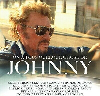 AU15.30 • Buy Various Artists - TRIBUTE TO JOHNNY HALLYDAY / ON A TOUS QUELQUE CHOSE