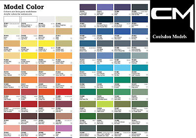 Vallejo Model Color Paints Choose From Full Range Of 17ml Acrylics & More • 3.29£