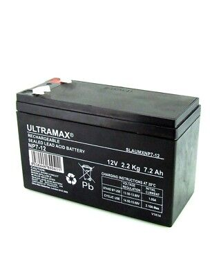 Country Home Products 46 Lawn Mower 12V 7Ah Replacement Lawn And Garden Battery • 15.49£