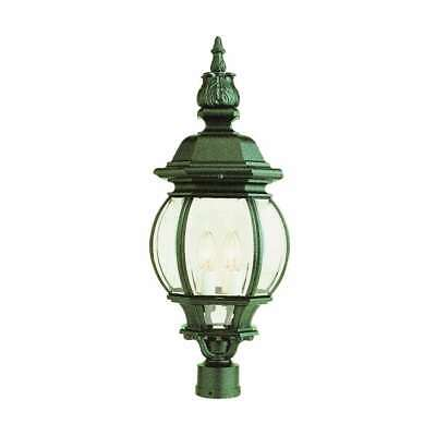 Trans Globe Rochefort 28  Post Top Lamp In White - 4062 WH • 100.13£